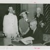 Vermont Participation - George Aiken (Governor) signing guestbook