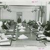 Veterans - Temple of Peace - Grover Whalen addressing meeting of patriotic societies