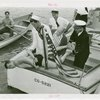 "Veterans - World War I - """"Youngest Veteran"""" handcuffed on boat"