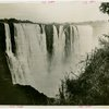 Victoria Falls Exhibit - Actual waterfall in Southern Rhodesia