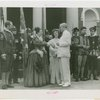 "Virginia Participation - James H. Price (Governor) with cast members of, """"The Christening of Virginia"