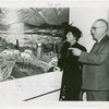 Washington (State) Participation - Timber executive and wife at exhibit