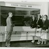 Washington (State) Participation - United Airlines hostesses at exhibit