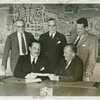 Westinghouse - Grover Whalen signing contract with officials
