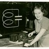 Westinghouse - Woman with radio