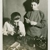 Westinghouse - Boys looking into microscope
