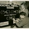 Westinghouse - Boy and girl with chemical formula machine