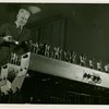 Westinghouse - Man playing musical machine using light beams
