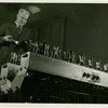 Westinghouse - Man playing musical machine using light beams