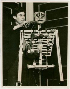 Westinghouse - Boy adjusting chemical man