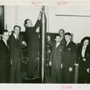 Westinghouse - Time Capsule - Grover Whalen and officials with time capsule