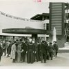 Westinghouse - Time Capsule - Crowd outside time capsule exhibit