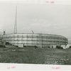 Works Progress Administration - Scaffolding on building