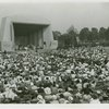 Works Progress Administration - Audience at W.P.A. Day ceremony listening to address
