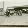 Works Progress Administration - Schoolchildren - Walking to exhibit
