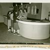 Works Progress Administration - Schoolchildren - At information booth