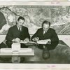 Yugoslavia Participation - Grover Whalen and Constantin Fotich (Ambassador) signing contract