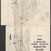H4. Map (Scheme B) illustrating freight situation, Manhattan Island, 1908.