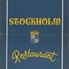 Stockholm Restaurant.