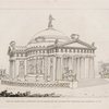View of a design for a monument and to perpetuate the victories of Trafalgar and Waterloo, &c. &c