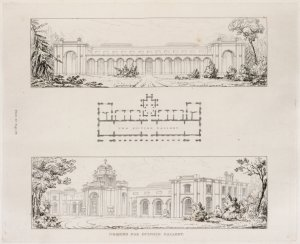 Designs for Dulwich Gallery.