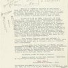 Typed letter to Emergency Committee, Lyon, 4 Feb., 1941