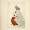 Man in long robe, kneeling with hands in prayer position,] 1461.