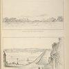 No. V. Bridge across the rapids at Niagara; No. VI. Bridge across Lake Cayuga.