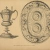 Silver communion cup and salver (2nd half of 16th century).