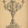 Bronze candelabrum.