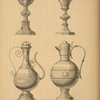 Communion vessels by Cox and Sons, London.
