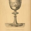 Communion cup in silver, gilt enamelled and mounted with precious stones.
