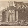 The temple of Antoninus & Faustina.    - text