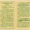 Canterbury Bell (Gratitude.)