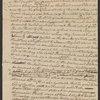 Letter from Philip Van Cortlandt to Egbert Benson