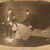 Boris Thomashefsky, Celia Adler and Lazar Freed in The Broken Violin.