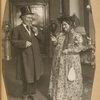 Gershon Rubin and Annie Manne in The Broken Violin.