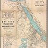 Carta dell' Egitto, Sudan, Mar Rosso, Assab, Massaua, Abissinia ecc.