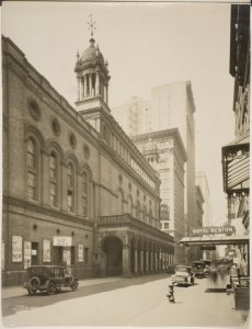 [Street view of Madison Square Garden]