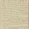 Letter to [Tristram] Dalton