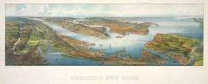 Greatest New York [panoramic view] / H. Wellge, sk.