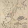 Outline map of New York Harbor & vicinity: showing main tidal flow, sewer outlets, shellfish beds & analysis points