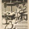 Fig. V. Chiromylos, pro tincturâ sculptarum laminarum parandâ.