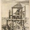 Fig. XIV. Pateomylos, frumentarius pedibus versanda mola.