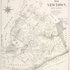 """Map of Newtown, Long Island : designed to exhibit the localities referred to in the """"Annals of Newtown"""" ; compiled by J. Riker, Jr., 1852."""