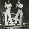 Maurice (left) and Gregory Hines in scene from the musical revue, Eubie