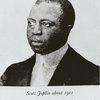 Scott Joplin, ragtime composer.