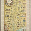 Romance map of the Hudson River Valley