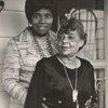 Singer Marian Anderson (left) and Regina Andrews, Mahopac, New York