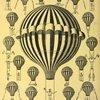 Affiche de l'aéronaute-acrobate Karil, vers 1876.